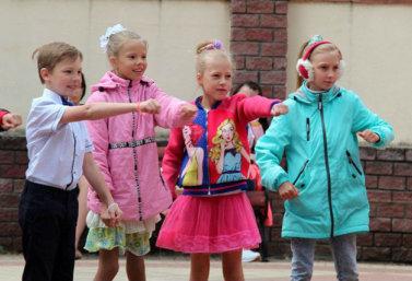 День защиты детей в Лебедяни (2018)