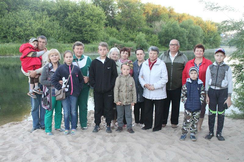Акция «Река памяти» в Лебедяни