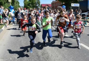 Детский марафон в Лебедяни (2 июня 2018)