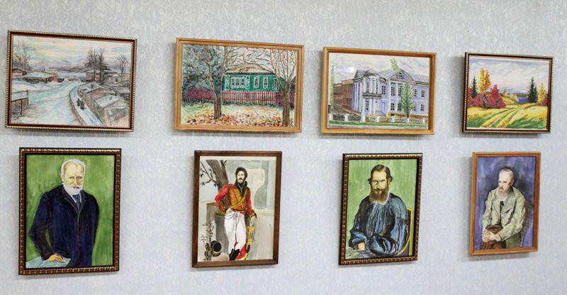 Выставка картин Виктора Ряховского
