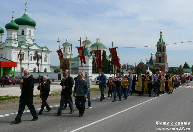 Праздник Владимирской иконы Божией матери в Троекурово (2018)