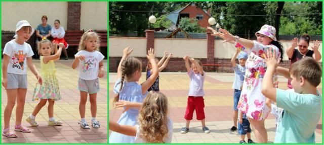 Детский праздник в горпарке (21 июля 2018)