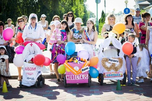 Парад колясок в Лебедяни (2013)