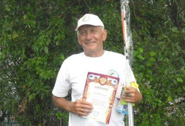 М.А. Новгородов - победитель областного турнира рыболовов
