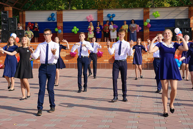 Школьные линейки 1 сентября 2018 года в Лебедяни