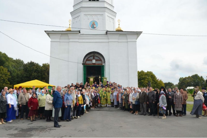 День памяти Силуана Афонского в Шовском 24 сентября 2018 года