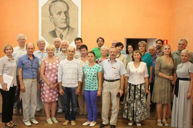 Калининградские литераторы в Лебедяни