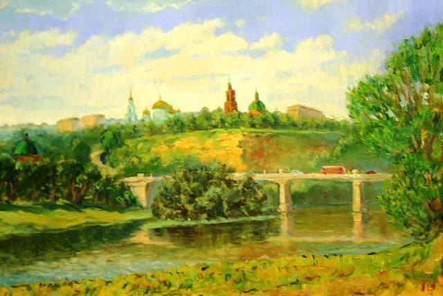 Вид на Тяпкину гору в Лебедяни (Петр Космаков)