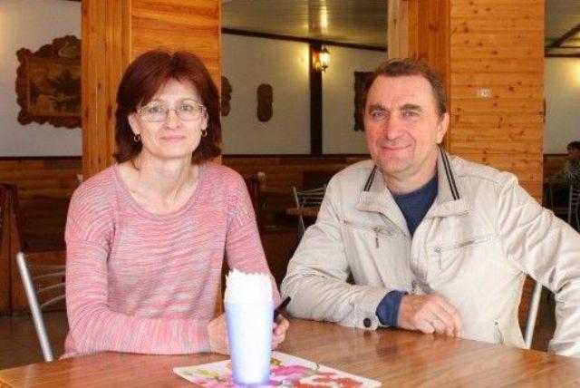 супруги Матвеевы (Лебедянь)