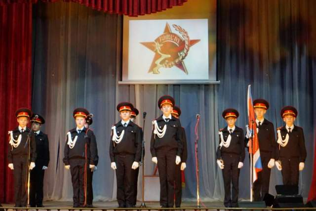 В Лебедяни отметили 100-летие комсомола