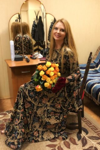 Певица Варвара в Лебедяни