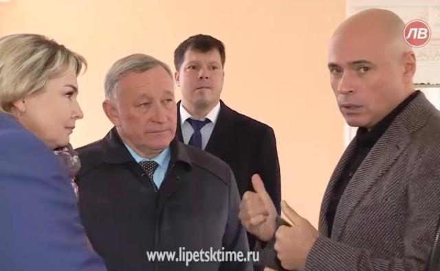 ВрИО главы Липецкой области Игорь Артамонов побывал в Лебедяни