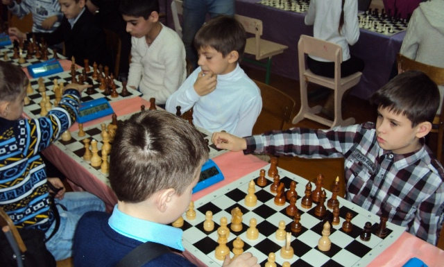 "лебедянские шахматисты клуба ""Дебют"""