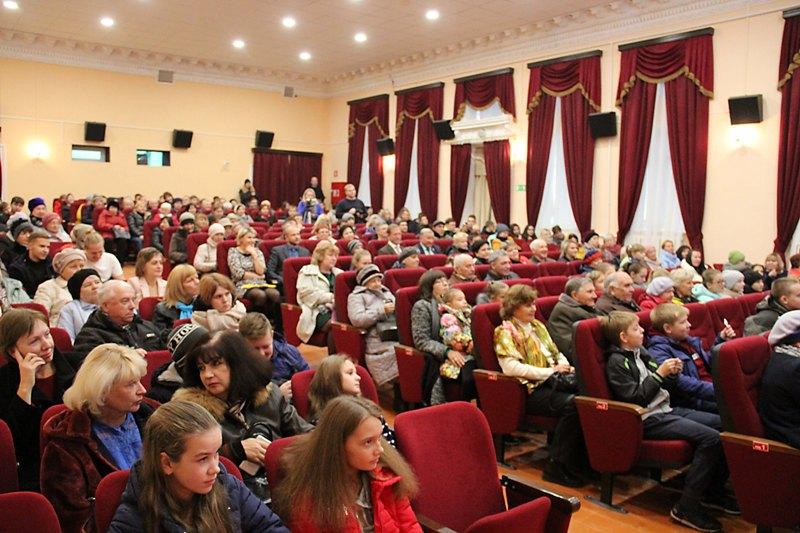 Открытие 3D кинозала в Лебедяни (1 ноября 2018)