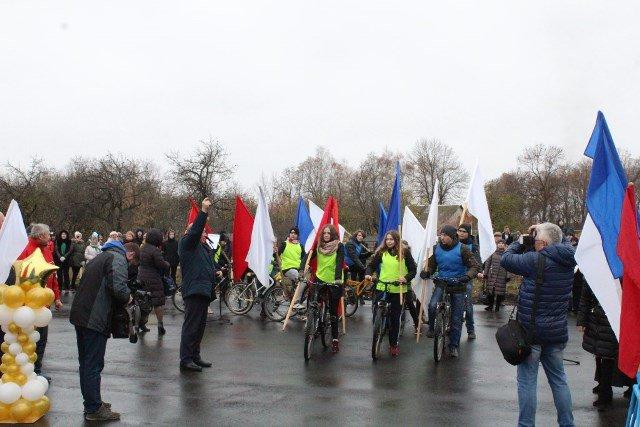 Велороллерная трасса в Лебедяни. Открытие 9 ноября 2018 года