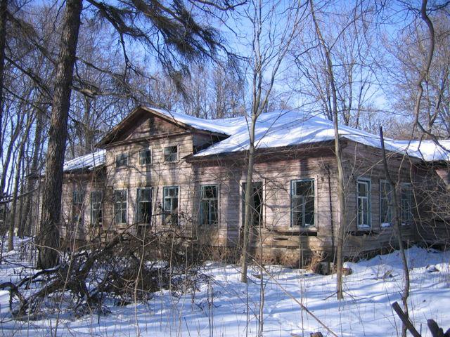 усадебный дом Дурасовых в селе Шовское Лебедянского района (фото В. Акимова)