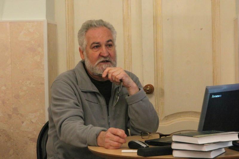 Александр Новосельцев в Лебедяни (декабрь 2018)