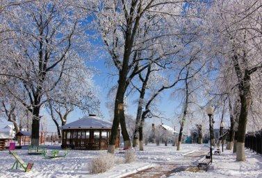 Зима в Лебедяни (фото Л.М. Крапивиной)