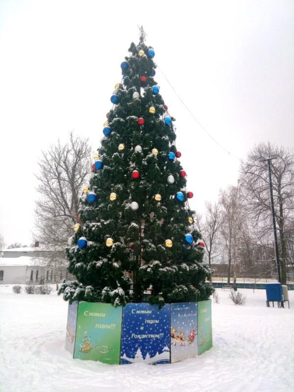 Главная новогодняя елка Лебедяни (2019)