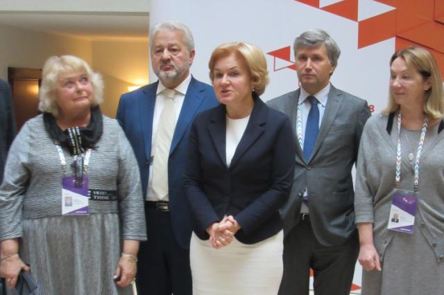 Ольга Голодец и члены Ассоциации владельцев исторических усадеб