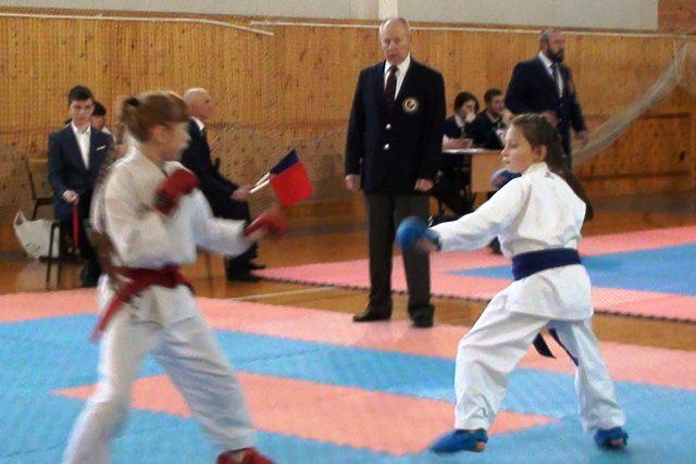 турнир по карате в Лебедяни (16 декабря 2018)