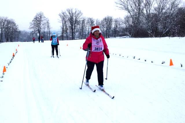 лыжные гонки в Лебедяни 29 декабря 2018
