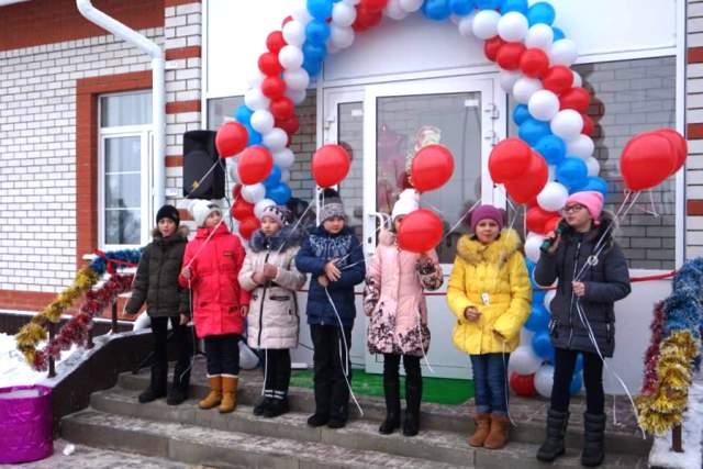 Открытие Дома культуры в селе Мокрое