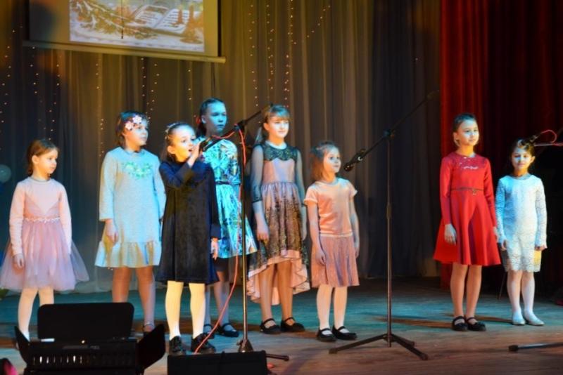 Рождественский концерт в Лебедяни 8 января 2019 года