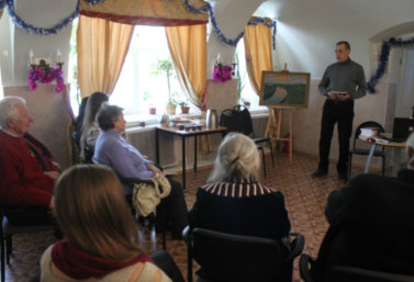 Презентация книги стихов Бориса Волынчикова 8 января