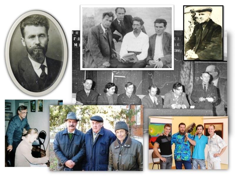 Лебедянские художники. Связь поколений