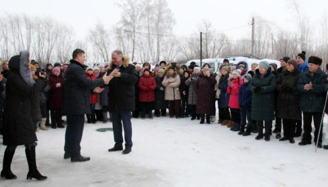 Открытие отделения общей врачебной практики в селе Шовское 1 февраля 2019 года