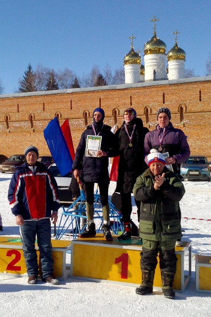 лыжные гонки в Лебедяни 23 февраля 2019 года