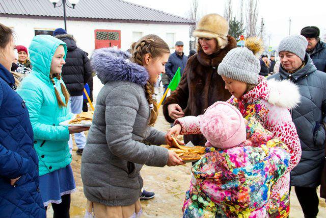 Масленица в Лебедяни (10 марта 2019)