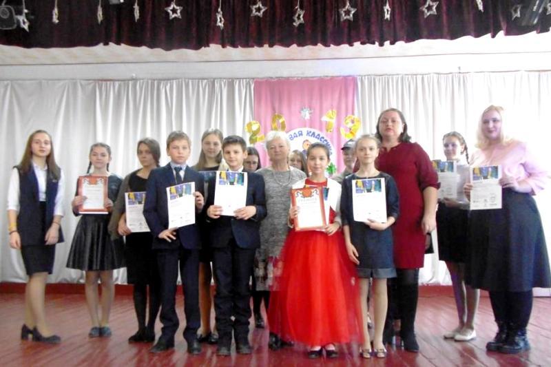 победители конкурса «Живая классика» в Лебедяни