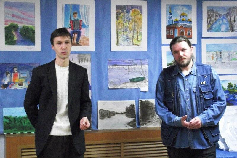 организаторы конкурса Зарецкого В.Акимов и Е.Артемов