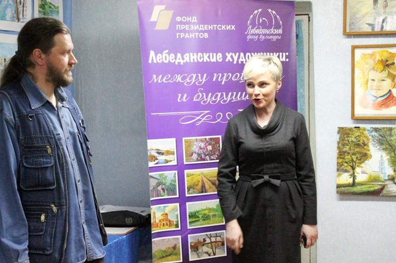 Евгений Артемов и Эльвира Рязанова на награждении победителей конкурса Зарецкого
