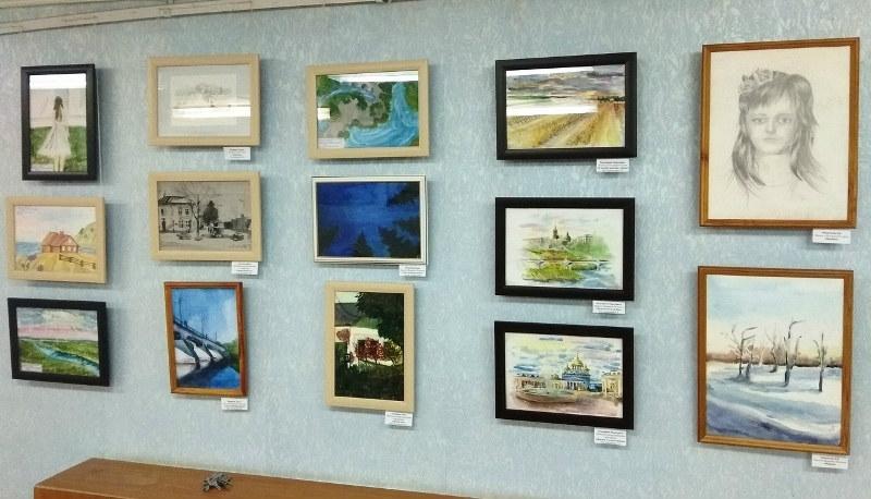 выставка работ победителей конкурса Зарецкого