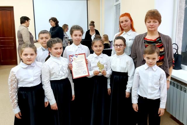 Ученики детской музыкальной школы Игумнова - победители областного конкурса