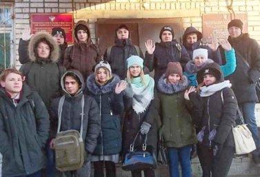 студенты ЛТЭТ в Роспотребнадзоре