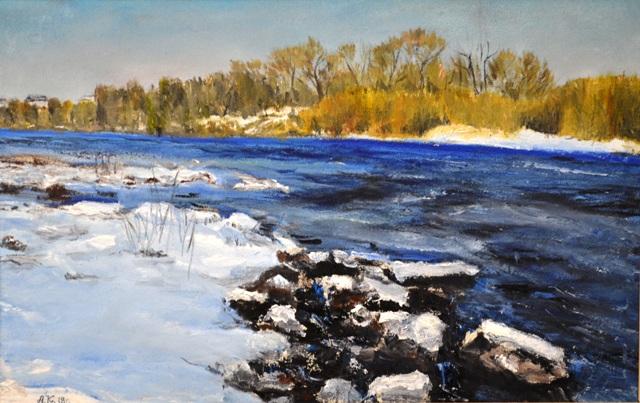 Выставка картин Александра Куликова