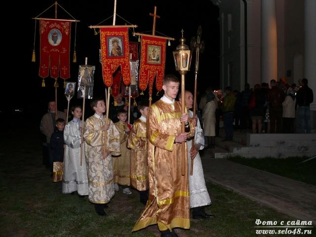 Пасхальное богослужение в Троекурово (2019)