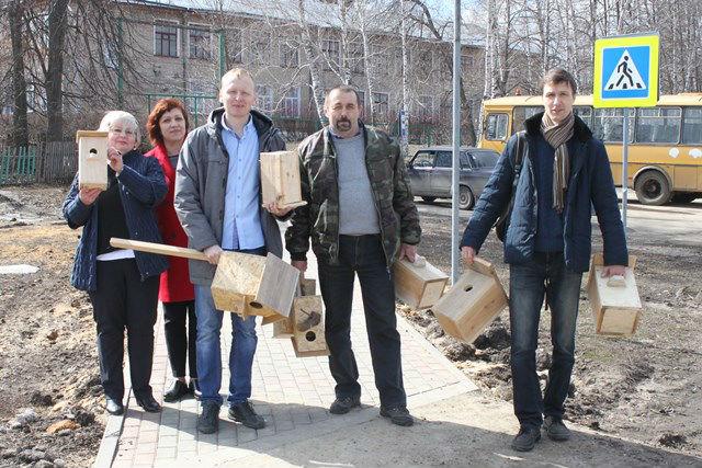 День птиц в селе Троекурово