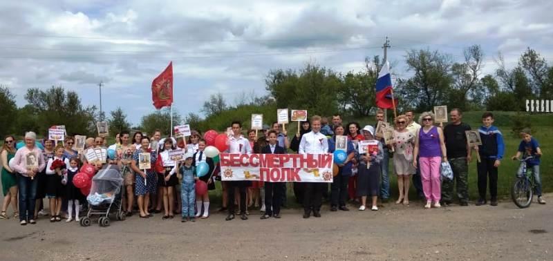 «Бессмертный полк» в Лебедянском районе