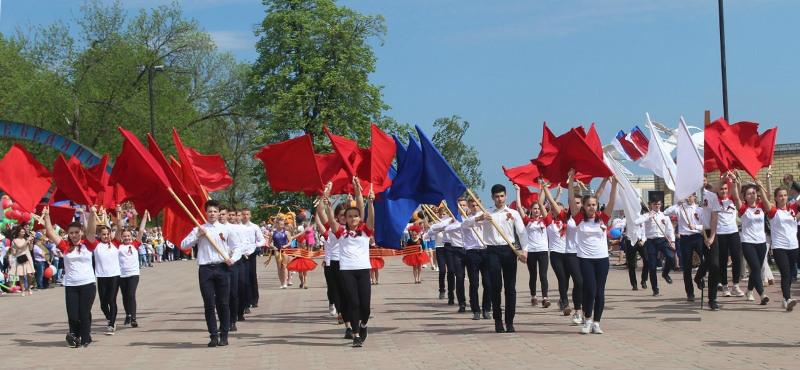 День Победы в Лебедяни (9 мая 2019)