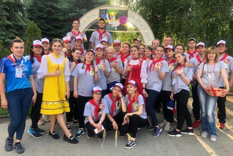 Студенты Лебедянского педколледжа