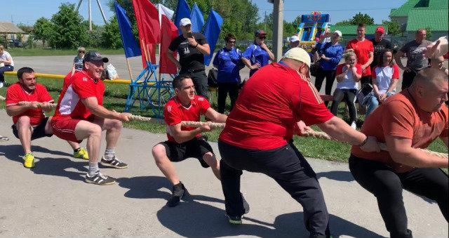 Спартакиада трудящихся Лебедянского района (май 2019)