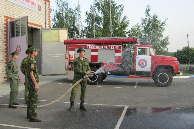 добровольные спасатели в с. Мокрое