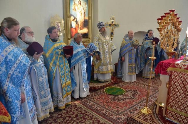 В Троекурово отметили праздник Владимирской иконы Божией Матери