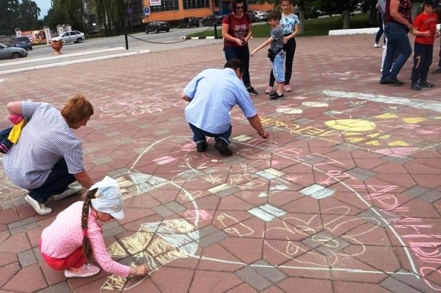 День защиты детей в Лебедяни (1 июня 2019)