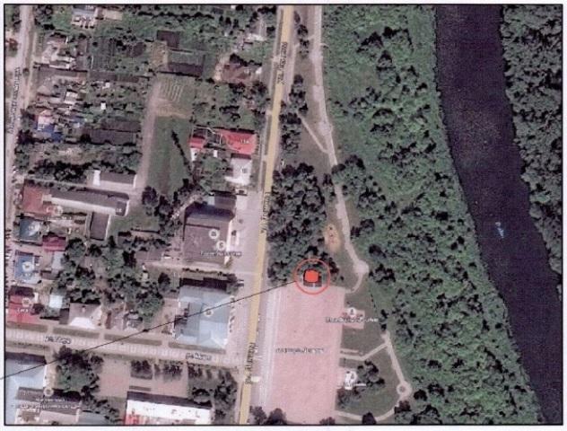Дворец бракосочетания в г. Лебедянь (ситуационный план)